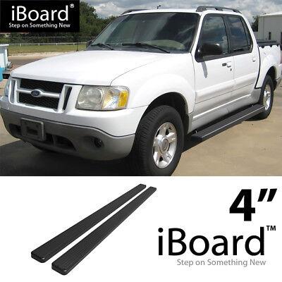 "6/"" Black eBoard Running Boards Fit Ford Explorer 4-Door 06-10"