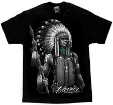 Geronimo Apache Warrior Mens Regular-Fit Cotton Polo Shirt Short Sleeve