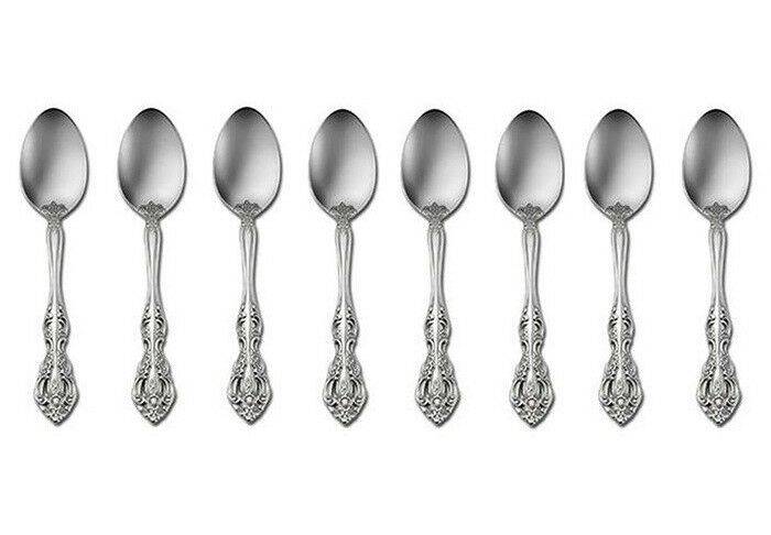 Oneida Michelangelo 18 10 Stainless Steel 6 1 8  Teaspoon (Set of Eight)