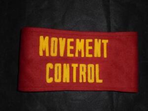 Veritable-Usmc-Etats-unis-Marines-Corps-Mouvement-Controle-Epauliere-Bras-Bande