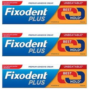 3-x-Fixodent-Plus-Dual-Power-Best-Hold-40g-Denture-Premium-Adhesive-Cream-Strong