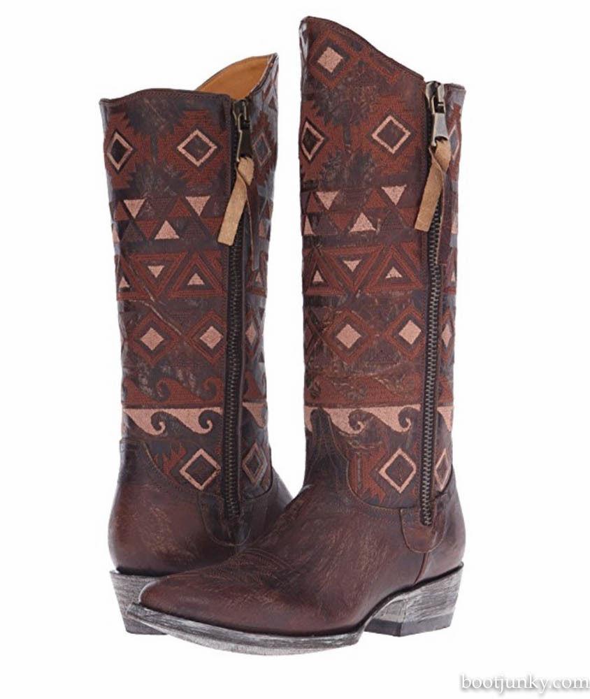 stanno facendo attività di sconto NEW IN BOX donna OLD GRINGO GRINGO GRINGO DURANGO VESUVIO BRASS RAZZ stivali L2455-1 Dimensione 7.5  negozio online outlet