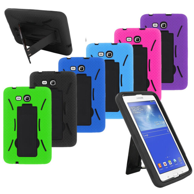 the best attitude 077b2 b3e64 2in1 Defender ARMOR Box Case Skin Cover For Samsung Galaxy Tab E Lite 7.0 /  3 7