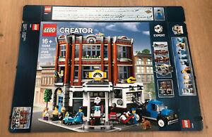Lego 10264 Creator Eckgarage Set Leerkarton/Box/Ovp NEU