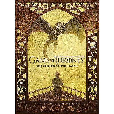 Game Of Thrones : Season 5 DVD, 2016, 5-Disc Set R4 New & Sealed