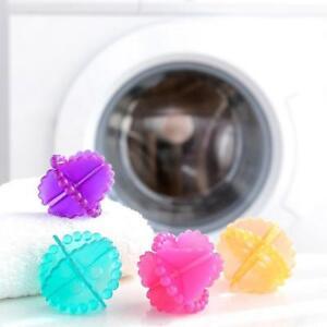 Magic-Reusable-Laundry-Wash-Machine-Tumble-Dryer-Plastic-Cleaning-Balls-10Pcs