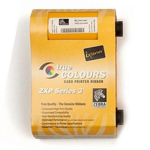 800033-840 YMCKO GENUINE Ribbon For Zebra ZXP3 Series 3 Printer 200 Prints
