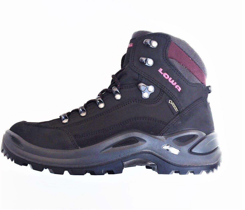 Niedriga Renegade Mid Ws GTX Damen Schuhe schwarz weinrot Wanderschuhe Wanderschuhe Wanderschuhe Gr 37,5 dec09b