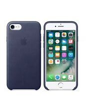MIDNIGHT BLUE GENUINE Apple Leather Case  Lederhülle fur iPhone 7 Plus 5,5