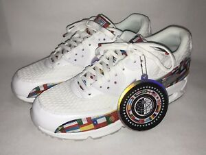 finest selection c5e97 9aa8e Image is loading Nike-Air-Max-90-NIC-QS-One-World-