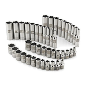 Craftsman-44-PC-1-4-034-Dr-EASY-READ-SOCKET-SET-6-pt-Standard-amp-Deep-LASER-ETCHED