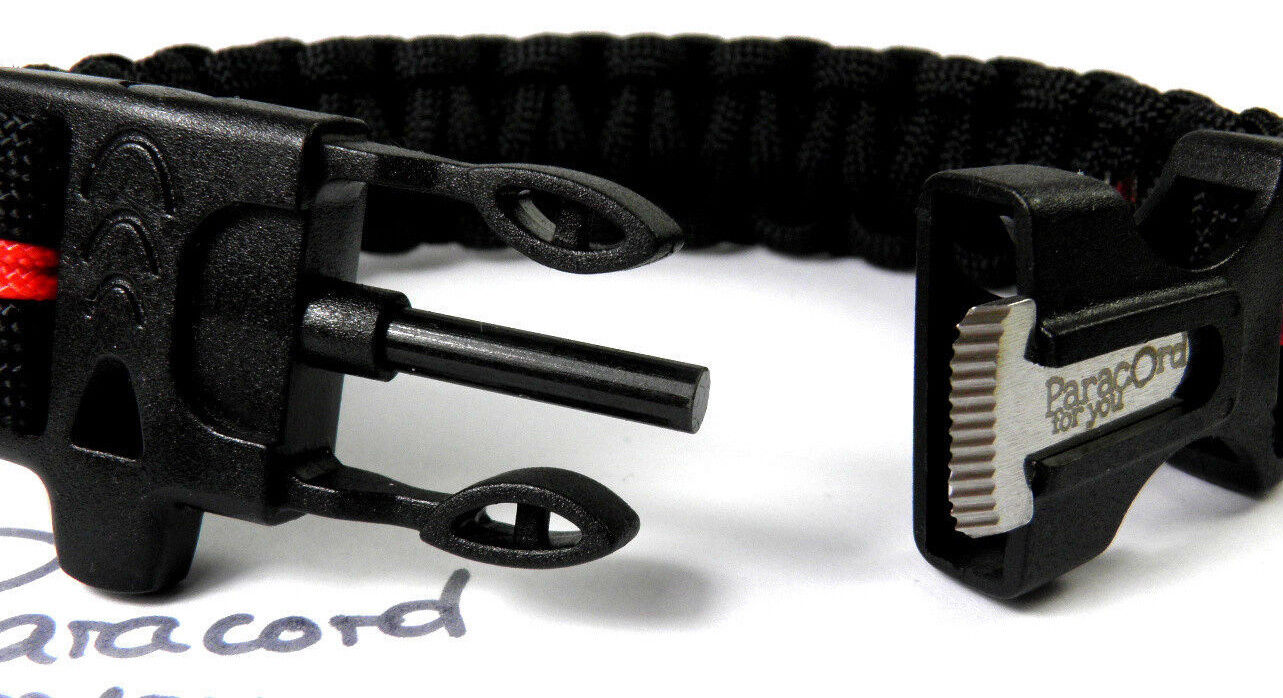 Paracord type type type iii-armband-thin mauve line-awareness-ribbon-edelstahl breloque fea7a8