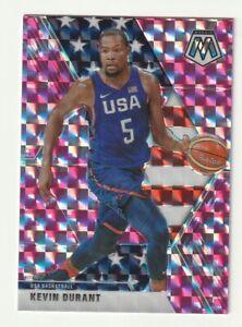 2019-20-Panini-Mosaic-Prizm-Pink-Camo-Kevin-Durant-USA-Basketball-251