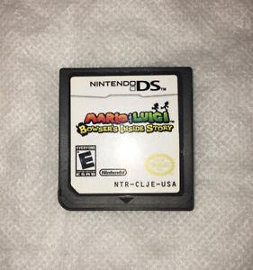 Cartridge-Only-Mario-amp-Luigi-Bowser-039-s-Inside-Story-Nintendo-DS-2009
