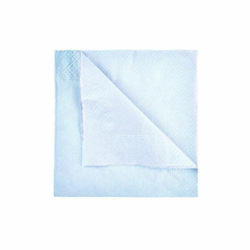 Dinner Napkins Pack of 100 Paper Napkins Disposable Napkins Swantex Sky Blue Napkins 33cm 2ply Party Napkins