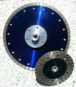 Diamond Cutting Grinding Disk 125mm 230mm W Flange M 14