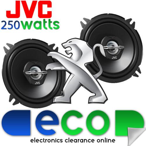 Peugeot 206cc altavoz posterior actualización 98-06 Jvc De 4 Pulgadas 10 Cm 420 Watts Max Power Un Par