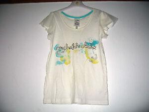 Debenhams-Rocha-John-Rocha-girl-039-s-white-floral-bead-top-11-12-yrs-New
