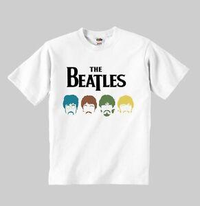 70382c8d9 La imagen se está cargando La-Camiseta-Beatles-Modelo-4-Kids-Camisa-Nino-