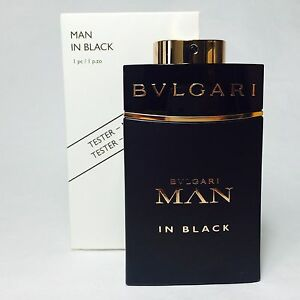 2f784b31255 Bulgari Bvlgari MAN In Black for Men Eau de Parfum 100ml 3.4Oz Ts ...