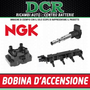 Kit-4-Bobines-d-039-allumage-NGK-U5003-AUDI-A4-8E2-B6-1-8-T-150HP-110KW