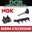 Kit-4-Bobines-d-039-allumage-NGK-U5003-AUDI-A4-8E2-B6-1-8-T-150HP-110KW miniature 1