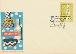 Poland FDC (Mi. 1178) Pharmacy congress #1 - Bystra Slaska, Polska - Poland FDC (Mi. 1178) Pharmacy congress #1 - Bystra Slaska, Polska