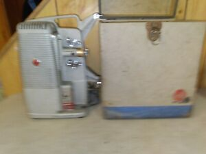 Dejur 500 8mm Regular film protector with case Powers up. Need repair