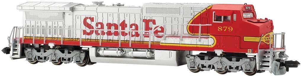 Spur N - Diesellok Dash 8-40CW Santa Fe mit DCC + Sound - 67352 NEU