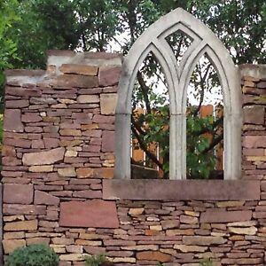 1 t Buntsandsteine rot € 240/t Sandstein Gartengestaltung Ruinenmauer Naturstein