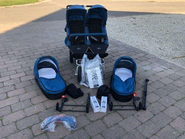 Baby Sonnenschirm kompatibel mit TFK Joggster III blau