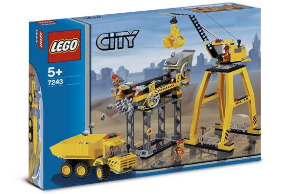 NIB  NEW NEW NEW Lego CITY 7243 -  Construction Site  -  Obra de Construcción  - NUEVO 381eee