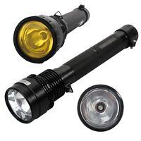 85w/8500lm Hid Xenon Hunting Lamp Flashlight Torch Spotlight + 8700mah Battery