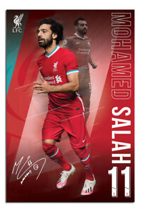 Liverpool-FC-Salah-Poster-Official-Licensed-24x36-034-UK-Seller