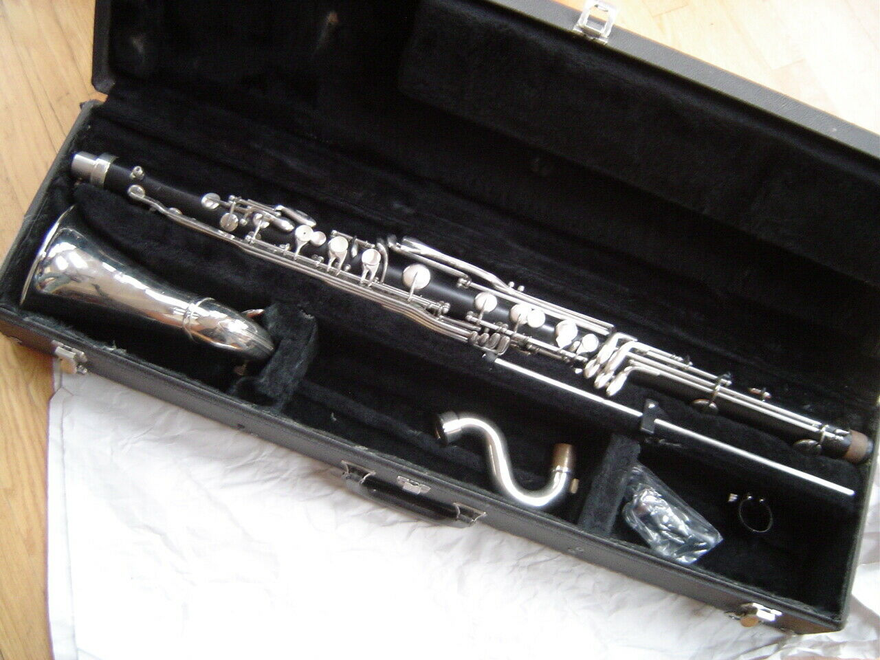 Vintage Bundy Bass Clarinet - Plays Great - Excellent Condition