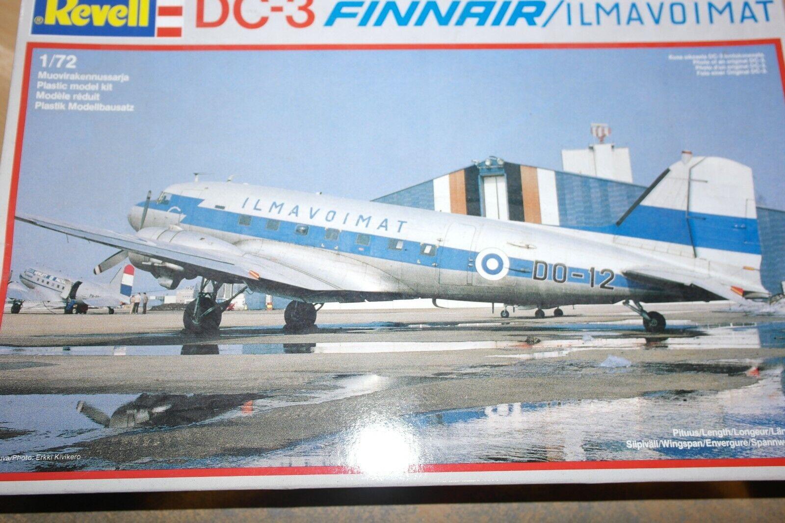 REVELL 1 72 DC -3 FINNAIR ILMAVOIMAT 4234
