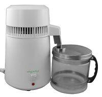 Water Distiller White- Countertop -stainless Steel -glass Container - Vegavita ™