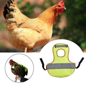 Chicken-Saddle-Apron-Hen-Jacket-Back-Feather-Protect-Cover-Backyard-Poultry