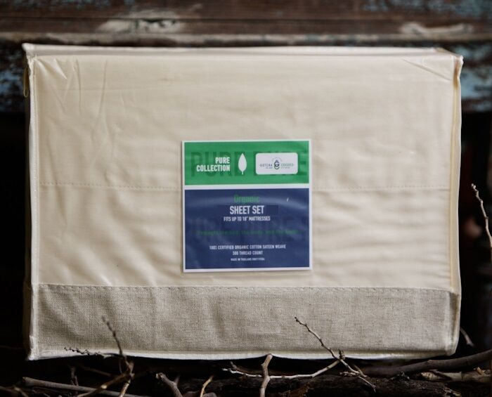 100% organic cotton sheet set for twin XL American Leather Comfort Sleeper