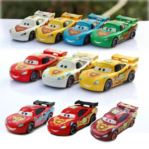 Cars 2 Colorful Lightning Mcqueen Series Diecast Toy Car 1 55 Loose Kids Toys Ebay