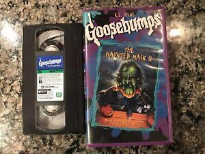 Goosebumps-The-Haunted-Mask-II-Vhs