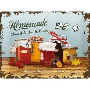 Nostalgie-Blechschild-Homemade-Marmalade-Blechschilder