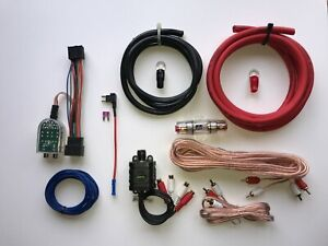 Chevy-GMC-Cadillac-Factory-Radio-Add-A-Subwoofer-Amplifier-Plug-amp-Play-Harness