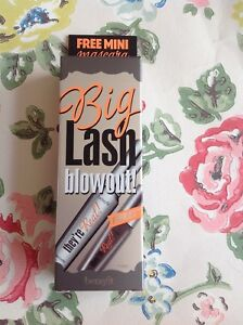 50507c809fc ⭐️BENEFIT⭐️Big Lash Blowout They're Real Black Mascara Set️Full ...