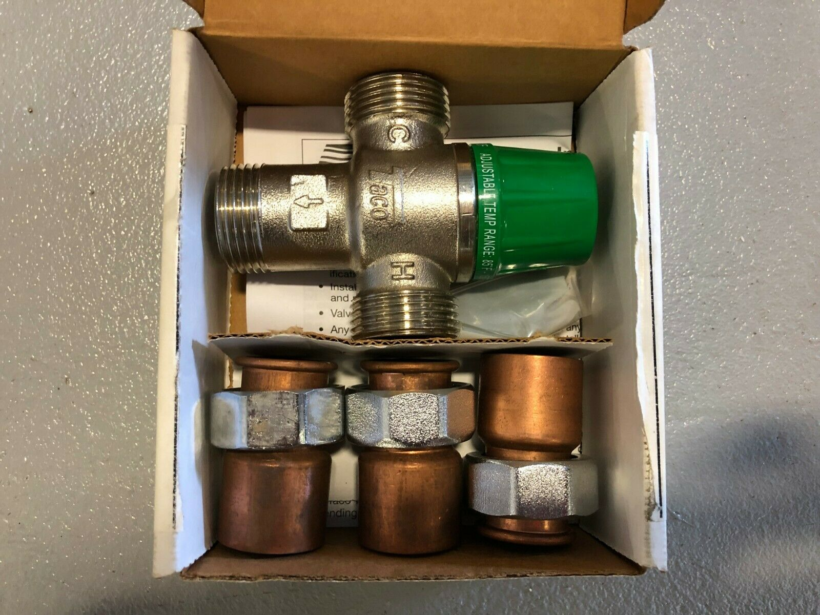 Mixing Valve Forged Brass 1 To 20 Gpm Taco 5003 C3 G Business Industrial Hydraulics Pneumatics Pumps Plumbing