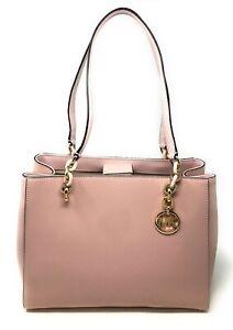 Michael Kors Sofia Large Chain Tote Leather Bag Handbag
