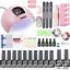 Nail-set-120W-UV-LED-LAMP-for-Manicure-Gel-nail-polish-Set-Kit-Gel-Varnish-Elect thumbnail 13