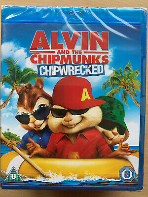 Alvin And The Chipmunks 3 Blu Ray Chipwrecked 2011 Kids Family Film Movie 5039036050968 Ebay