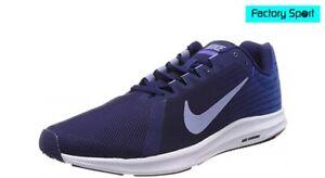 Detalles de Nike Downshifter 8 azul marino Zapatillas Deportivas Running para Hombre