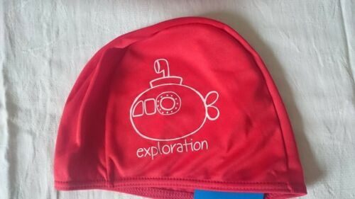 Fashy cofia 49 51 53 badekappe stoffbadehaube kinderbadekappe azul rojo Pink
